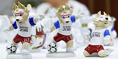 Before 2018 FWC, Zabivaka Statue will be Installed
