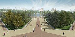 Park Facing Rostov Arena Stadium to Open on May 1