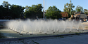 Fountain near the Palace of Sports