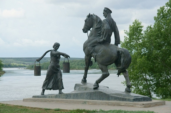 Monuments to the Literary Characters of Mikhail Sholokhov