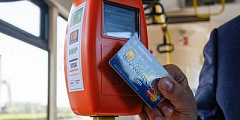 Use public transport and pay in the non-cash way